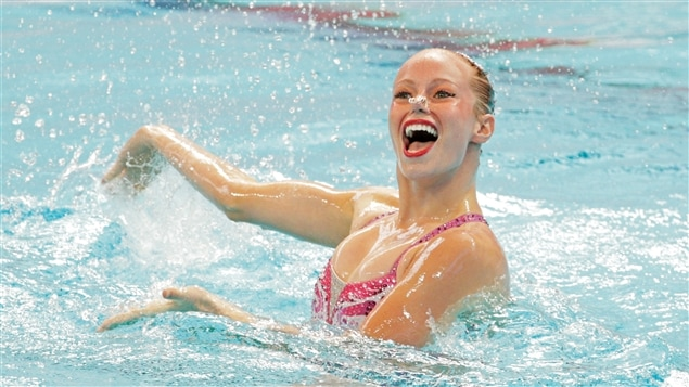 La nageuse Jacqueline Simoneau