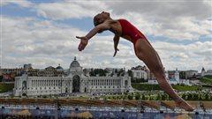 Le rêve olympique de Lysanne Richard, plongeuse de haut vol