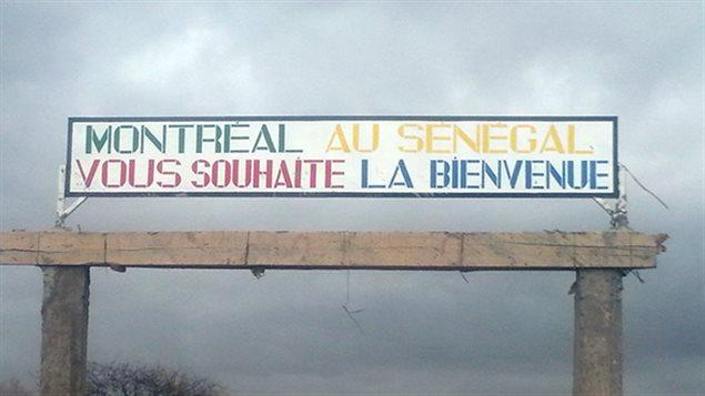 Le village sénégalais qui se trouve dans une zone rurale isolée a officiellement été nommé « Montréal » en 2015.
