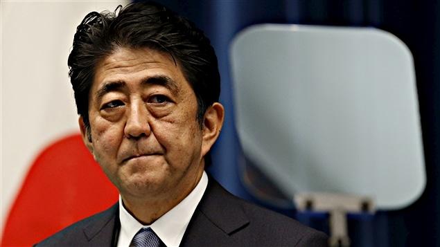 Le premier ministre du Japon, Shinzo Abe