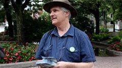 Une journée en campagne électorale avec Daniel Green, du Parti vert