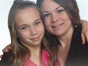 Stéphanie Boulanger et sa fille Émilie Berger, décédées dans un accident de voiture à Saint-Fabien.