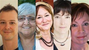 Simon Brousseau, Anne De Rome, Chantal Garand, Natalie Laguë et Marie Noël-Maw