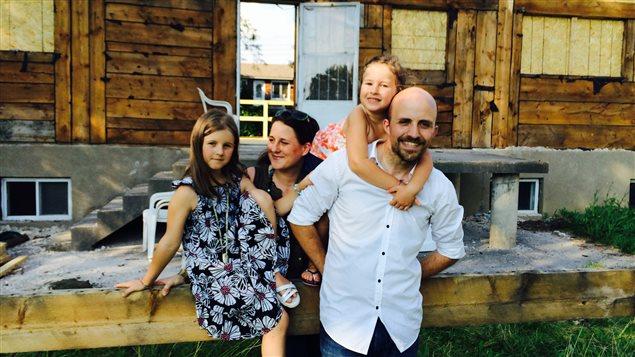 La famille Chaveron.