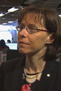 L'économiste principale du Mouvement Desjardins, Joëlle Noreau