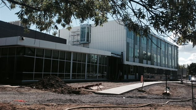 La nouvelle École primaire de l'Île-des-Soeurs, à Montréal