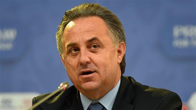 Le minsitre des sports de la Russie Vitaly Mutko dirigera aussi la Fédération russe de soccer
