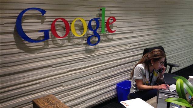 Bureau de Google à Montréal