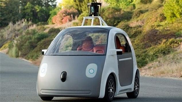 Voiture prototype autoconduite de Google.