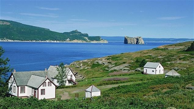 L'île Bonaventure, au large de Percé, en Gaspésie.