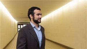Omar Khadr à la Cour d'appel de l'Alberta.