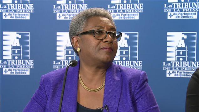 La présidente de la Fédération interprofessionnelle de la santé du Québec (FIQ), Régine Laurent