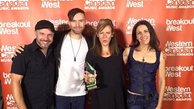 Annette Campagne a remporté le prix du meilleur album francophone de l'année au gala des Western Canadian Music Awards.