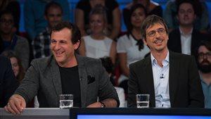 Patrick Huard et Philippe Falardeau