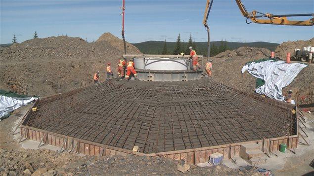 Le parc éolien est un projet de 330 millions de dollars, mené par les trois communautés micmaques de la Gaspésie et Innergex.
