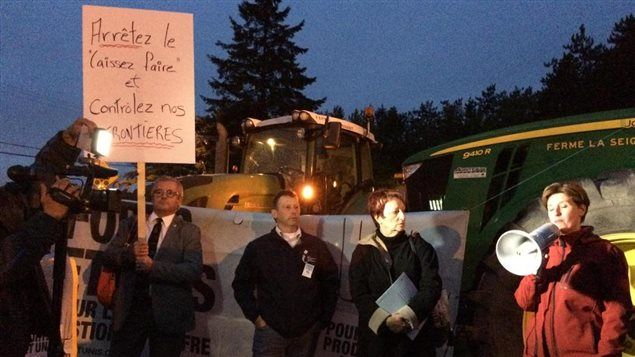 Déclaration commune des candidats de l'opposition, en appui aux agriculteurs
