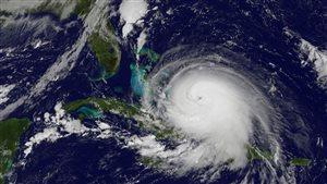 Image satellite de l'ouragan Joaquin