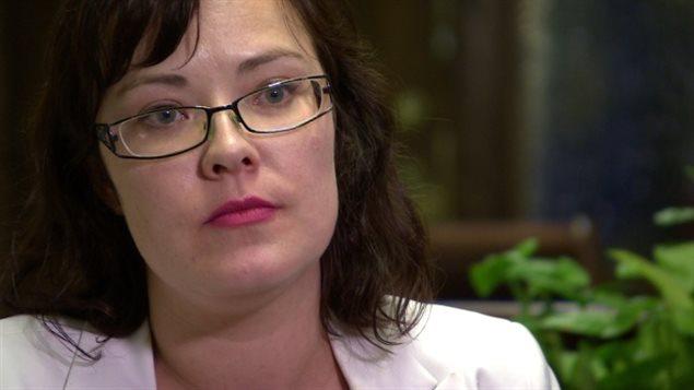 Katheleen Ganley, ministre de la Justice de l'Alberta.