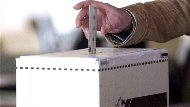 Une boîte de scrutin