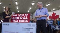 Les libéraux veulent-ils «enlever de l'argent» aux Canadiens? L'épreuve des faits