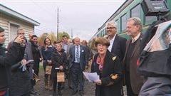Train Montréal-Sherbrooke:le financement de l'étude de faisabilité serait confirmé