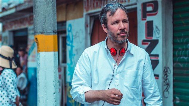 Denis Villeneuve lors du tournage de Sicario au Mexique