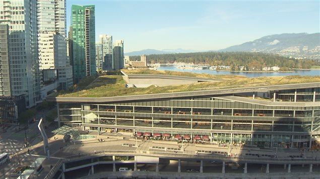 Le Centre des congrès, à Vancouver
