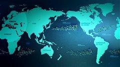 Le courrier des Années lumière : Le rôle des gyres océaniques