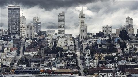 Vue de la ville de San Francisco
