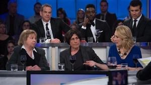 Josée Legault, Chantal Hébert et Tasha Kheiriddin