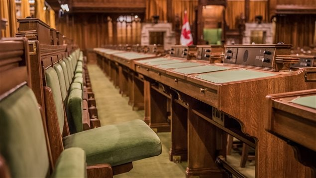 Sièges de la Chambre des communes à Ottawa