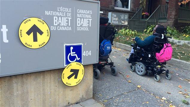 les bureaux de vote sont ils assez accessibles aux personnes handicap 233 es aujourd hui ici