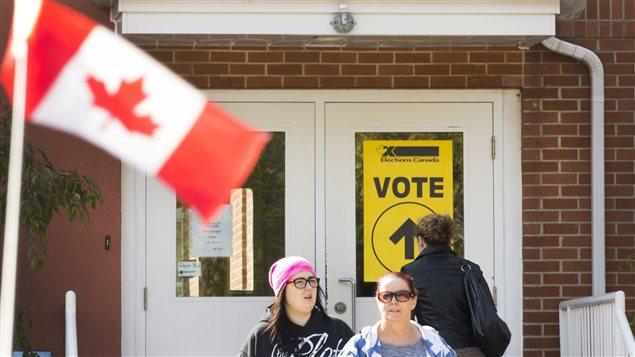 Déroulement du processus électoral au Canada