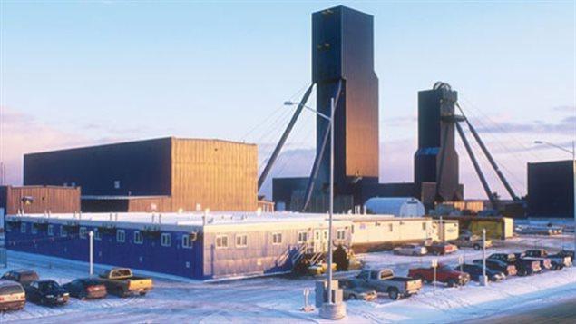 La mine Nickel Rim South de Sudbury