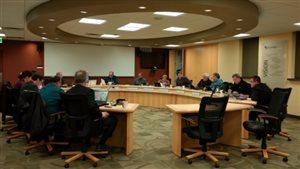 Le conseil d'administration de la DSFM en discussion.