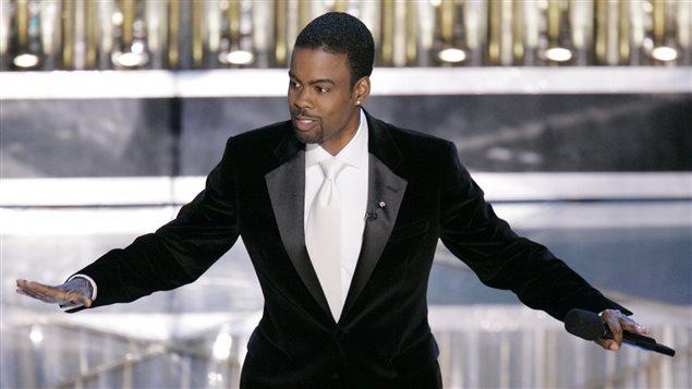 Chris Rock à l'animation des Oscars en 2005
