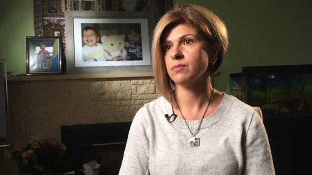 Tima Kurdi, la tante d'Alan le petit Syrien trouvé mort sur une plage turque en septembre.