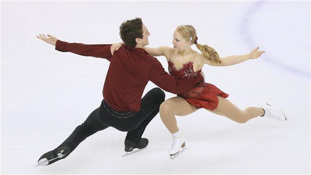 Julienne Séguin et Charlie Bilodeau