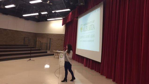 Le Campus St-Jean de l'Université de l'Alberta a tenté de séduire les élèves du Conseil des écoles fransaskoises.