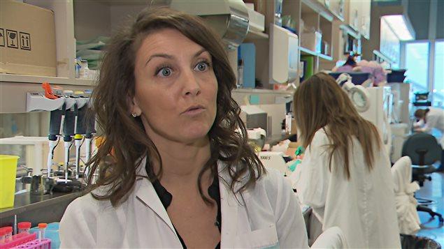 Francesca Cichetti, chercheuse en neurobiologie à l'Université Laval