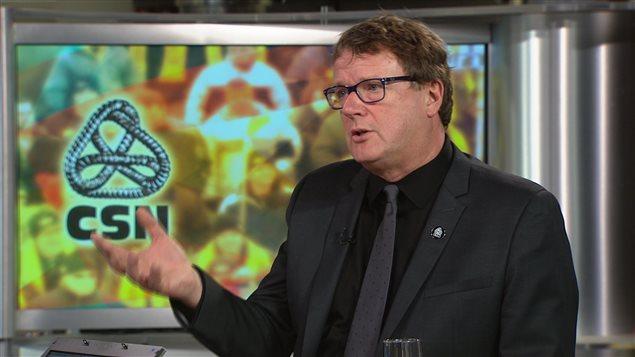 Jacques Létourneau, président de la CSN