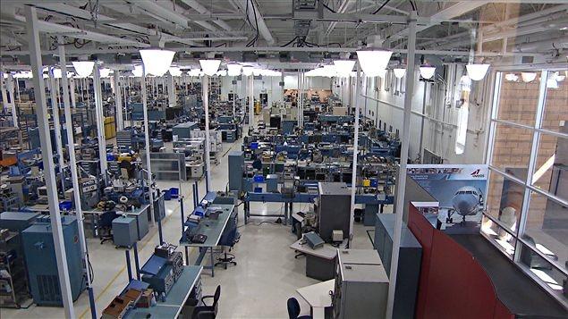 L'ancienne usine d'Aveos à Montréal (archives)