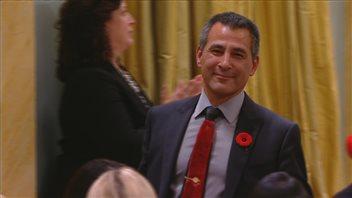 Le ministre des Pêches, des Océans et de la Garde côtière canadienne, Hunter Tootoo