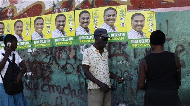 Jovenel Moïse et Jude Célestin s'affronteront au 2e tour de l'élection présidentielle.
