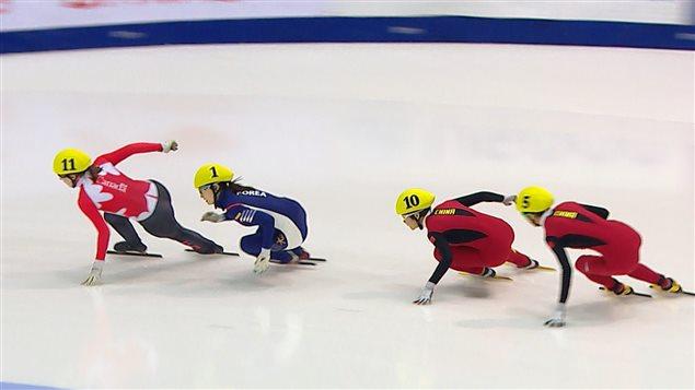 Finale du 500 m féminin