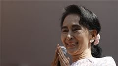 Aung San Suu Kyi à Washington en septembre