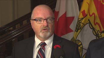 Le chef de l'Opposition officielle du Nouveau-Brunswick, Bruce Fitch