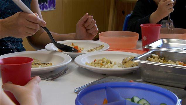 Repas dans un CPE