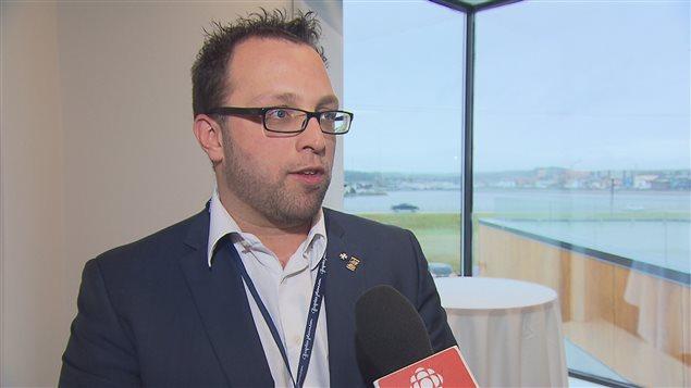 Daniel Côté, maire de Gaspé