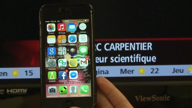 L'alumine haute pureté sert à la conception d'équipements à la fine pointe de la technologie comme les écrans d'iPhone